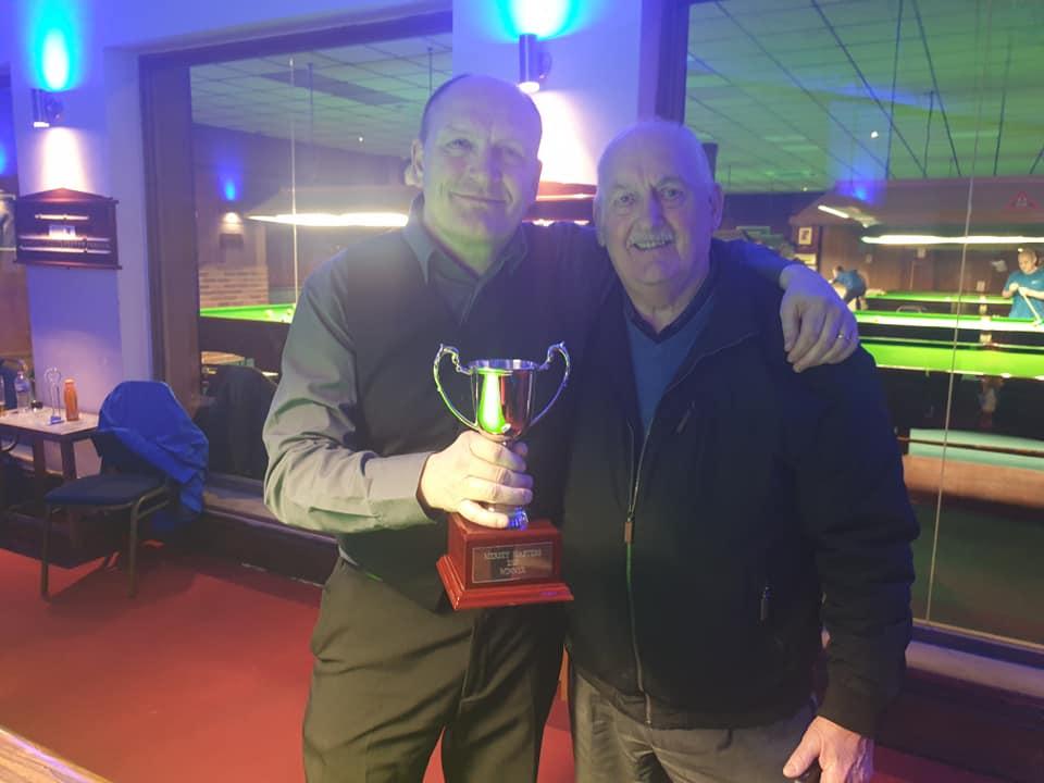 Ian Brumby Masters Win